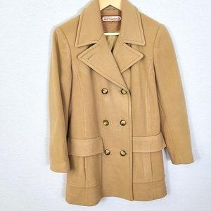 VTG Union Mackintosh Wool Double Breasted Pea Coat
